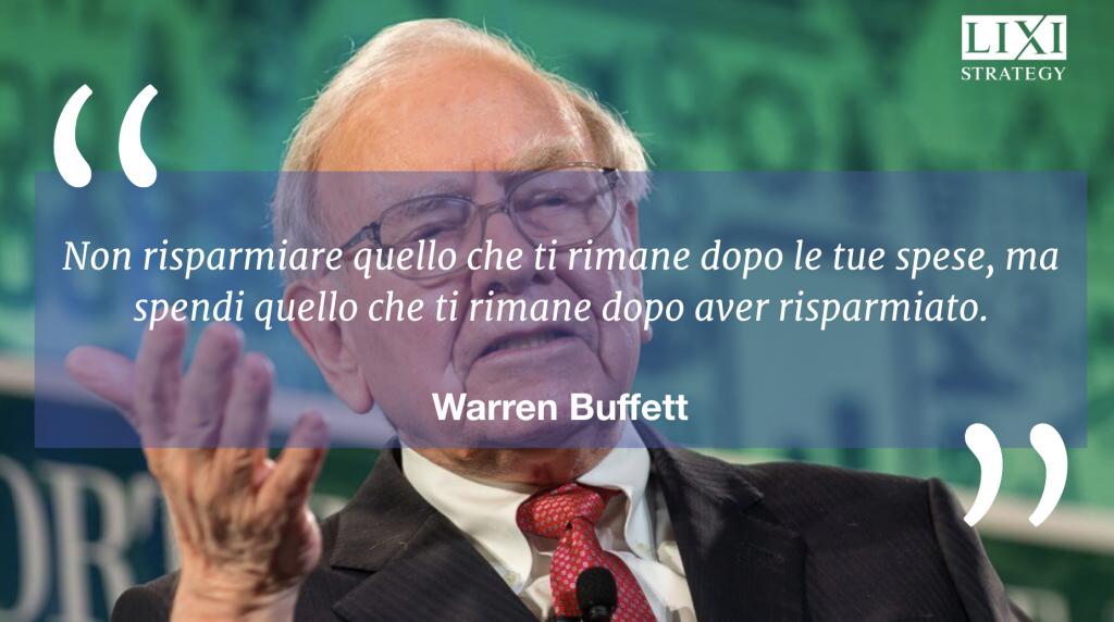 Come risparmiare denaro secondo Warren Buffett