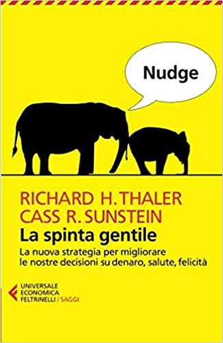 """Libro """"Nudge: la spinta gentile"""""""