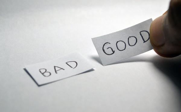 Decisione buona o cattiva
