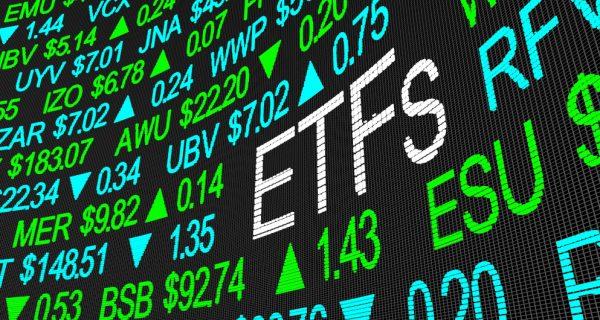 Etfs,Exchange,Traded,Funds,Stock,Market,Investment,3d,Illustration
